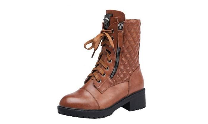 Women's Winter Warm Platform Short Boot