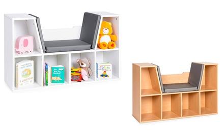 6-Cubby Kids Bedroom Storage Organizer
