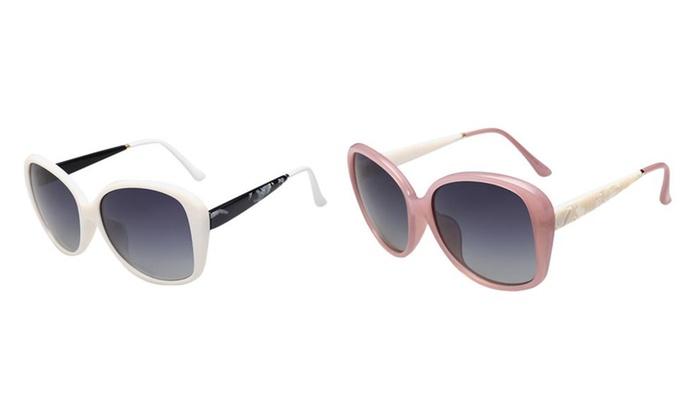 Jollypicks Women's Classic UV Guard Polarized Driving Sunglasses