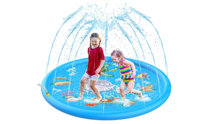 """Up To 51% Off on Kids Splash Pad, 68"""" Outdoor ... 