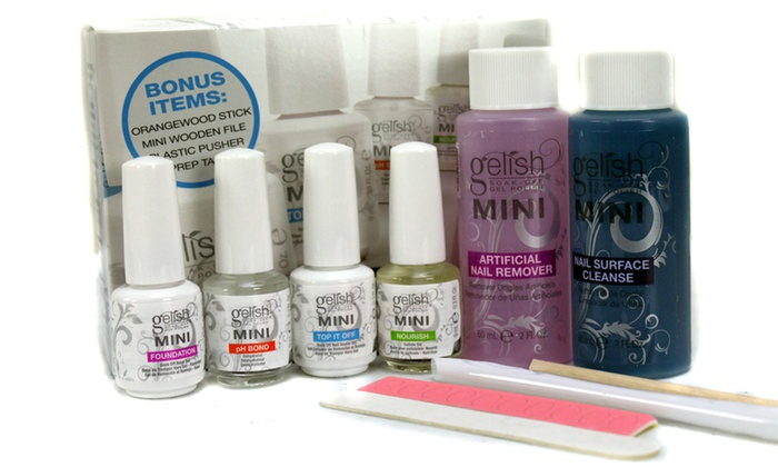 Up To 68 Off On Gelish Complete Basix Gel Nai Groupon Goods