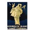 Vermouth Blanc Comoz de Chambery Canvas Print 18 x 24