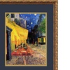 Vincent van Gogh 'Cafe Terrace At Night, 1888' Framed Art 18x22-in