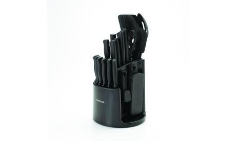 Farberware Spin N Store Caddy Knife Set (30-Piece) e7d1f5f5-e525-481d-9ba2-b54e38d64018