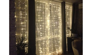 Fairy Light String Curtains