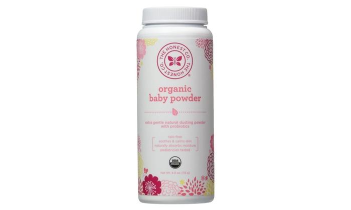 db3fd4a69f27a The Honest Company Organic Baby Powder - 4 oz (Pack of 1)