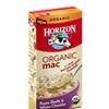 Horizon Organic Mac Pasta Shells & White Cheddar Cheese PACK 12