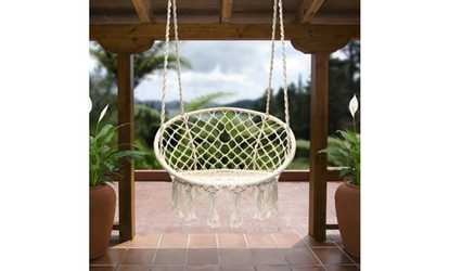 Heavy Duty Outdoor Metal Swing Frame Backyard Playground Lawn Groupon