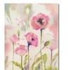 Sheila Golden Oriental Poppy Garden Canvas Print