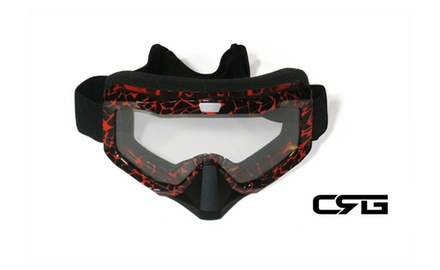 CRG Motocross ATV DIRT BIKE OFF ROAD RACING GOGGLES Adult T815-81-1