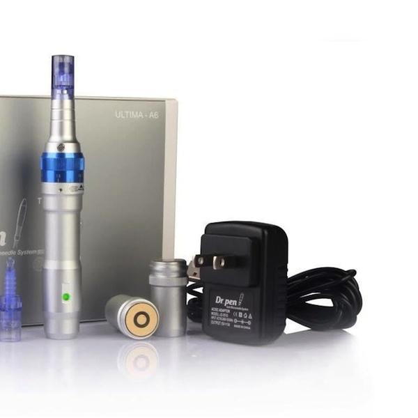 Dr  Pen A6 Derma Pen Rechargable & Adjustable Microneedle System or  Cartridges