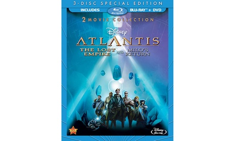 Atlantis: The Lost Empire Atlantis: Milo's Return 2-Movie Collection 038a6b87-5795-4fd4-9d65-6270a8c6d08a