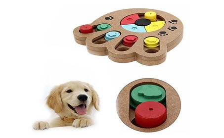 Pet Intelligence Toy Wooden Pet Paw Puzzle Toy 34a976cb-9ddc-4f2c-a400-d3fa45923d54