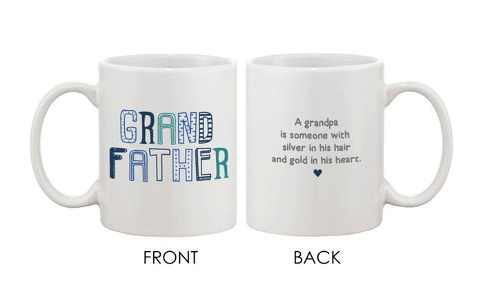 Cute Grandpa Mug Coffee Mug For Grandfather Father S