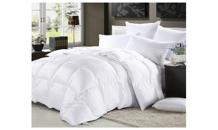 image placeholder image for elliz luxurious lightweight white down comforter light warmth duvet