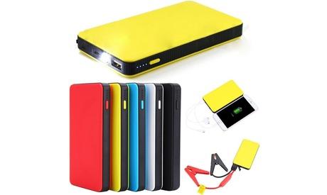 Mini Portable Slim 20000mAh Car Jump Starter Engine Battery Charger Power Bank