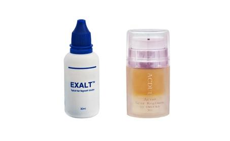 Omiera Labs Exalt Hair Growth Serum and Acdue Acne Treatment 2 pc Set ee092789-499b-478b-8a60-198a16555eb0