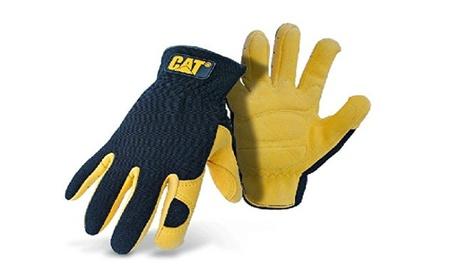 Cat Gloves Rainwear Boss Mfg Large Leather Gloves With Gel Pad