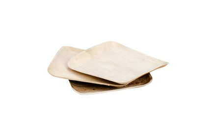 Eco-gecko Sustainable Square Palm Leaf Plate 26 / Case