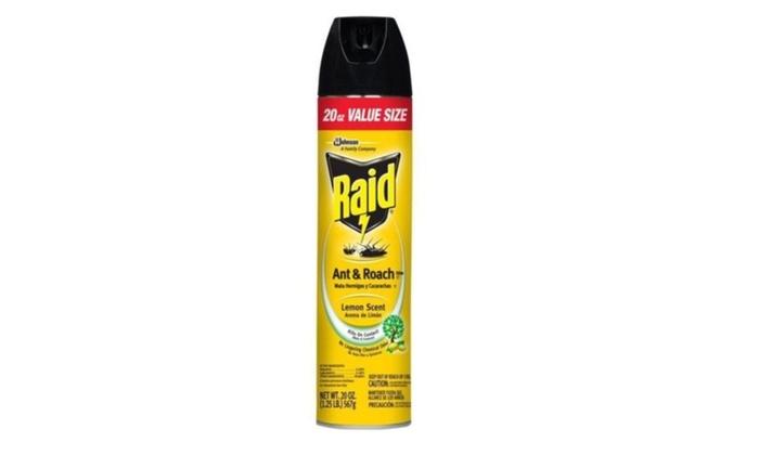 Raid Ant & Roach Lemon 20 OZ.