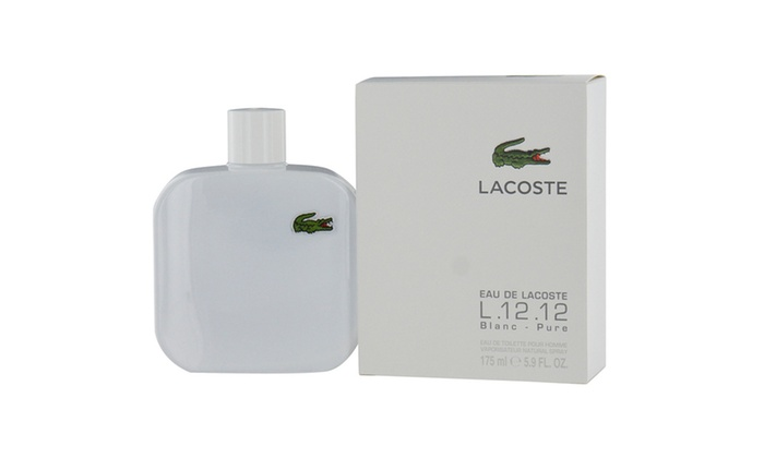 bdaf2783eee1d6 Lacoste Eau De Lacoste L.12.12 Blanc Edt Spray 5.9 Oz