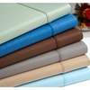Signature Greek Key Double Brushed Microfiber 6 Piece Bed Sheet Set