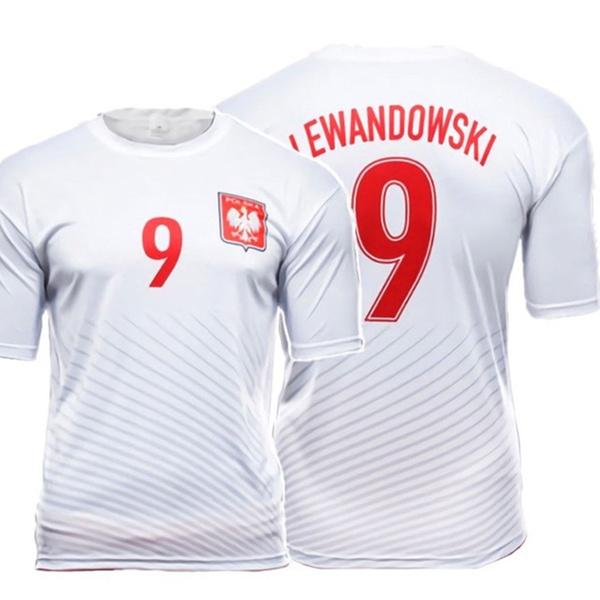 ee7ecca1c78 Polska Robert Lewandowski  9 Replica Polish Soccer Jersey Poland Pride