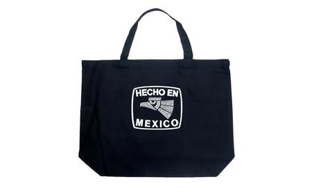 Large Tote Bag - HECHO EN MEXICO 4bce3784-11c5-41b2-89ea-5a500f9643f2