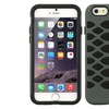 Insten Fish Scale Hard Dual Layer Rubber Coated Silicone Case For iPhone 6/6s