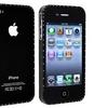 Insten Bling Metal Case Bumper For Apple iPhone 4 4S, Black