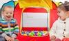 Folding Portable Playpen Baby Play Yard Tent with 100pcs Ocean Balls