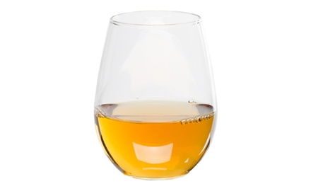 12 oz. Stemless White Wine Glass 4 / Case