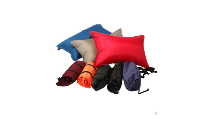 New Automatic Inflatable Sleeping Pillow Travel Summer Camping - Random