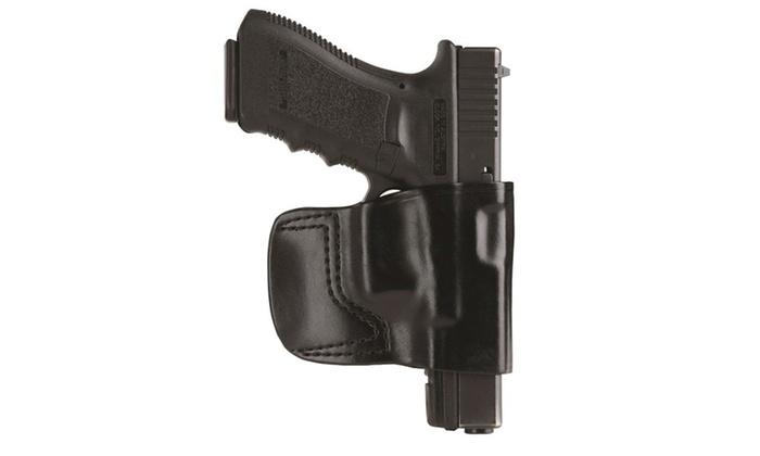 GandG Black Belt Slide Holster Fits Beretta Left Hand