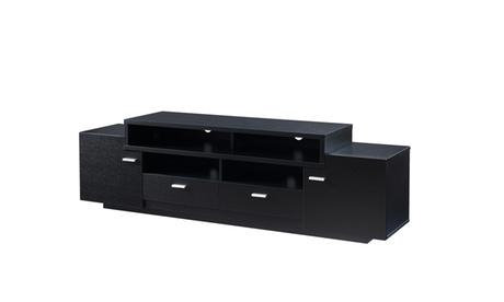 "Stanton Black Multi Shelf 72"" Media Stand 0253109d-f092-4c6d-8fbe-e79eec80cca3"