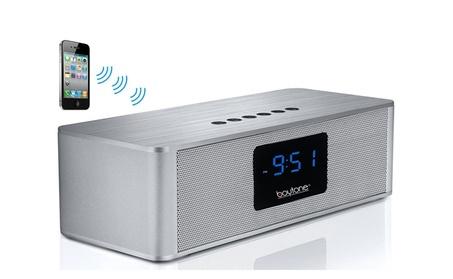 Boytone BT-88CB Bluetooth 4.1 Portable Alarm Clock Radio, USB, SD ccd0b01e-dfd2-45f4-ae1c-b3b355d8f8d5