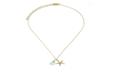 Stafish Necklace Turquoise