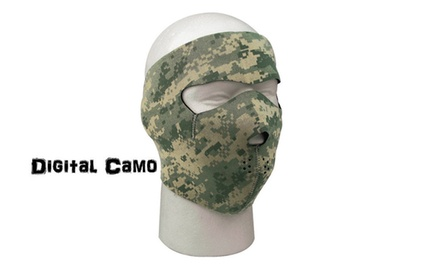 Neoprene Outdoors Skull Skinz Face Mask