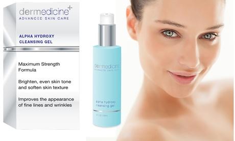 Dermedicine Alpha Hydroxy Acne Gel for Breakout Prone or Problematic Skin