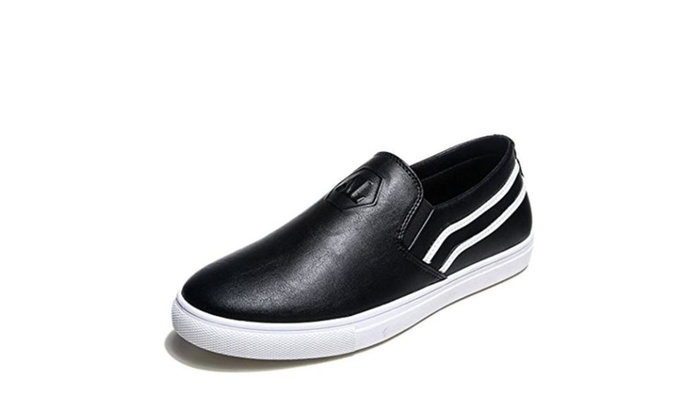 Men's Brief Leather Comfortable Casual Shoes Breathable Thin Shoes