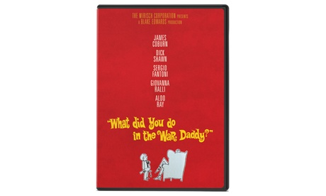 What Did You Do In The Way Daddy DVD 48fe550e-bcae-4b1d-aa32-66cfcf68a333