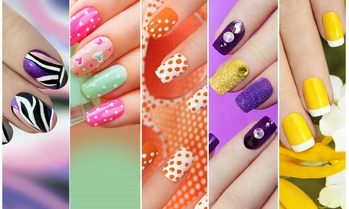 Up To 39 Off On Diy Nail Decorating Kit Groupon Goods