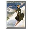 Sports DHiver Chamonix Mont Blanc Canvas Print 24 x 32