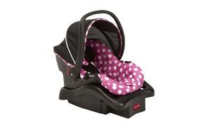 Disney's Minnie Mouse Dot Light 'N Comfy Infants' Car Seat