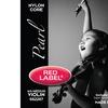 Super-Sensitive Red Label Pearl Violin String Set - 4/4 Size