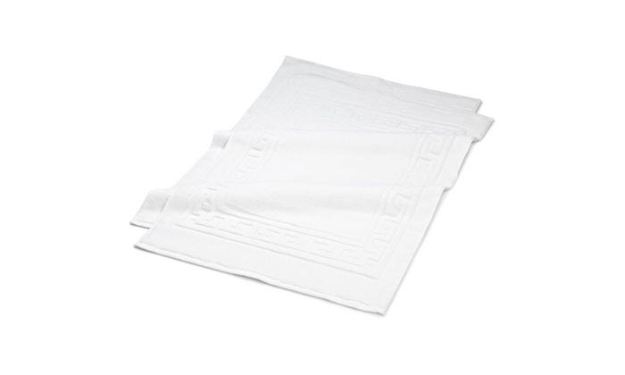 100 Long Staple Combed Cotton 22 Quot X 35 Quot Bath Mat Set 2