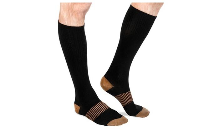 Copper-Infused Odor Control Socks Set