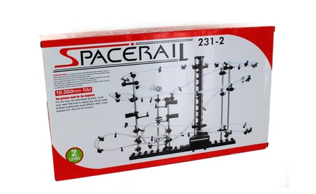 Space Rail Marble Roller Coaster Ball Set Level 2 10,000mm Rail ba66de0e-d894-4143-b6ee-a2a2ed042f63