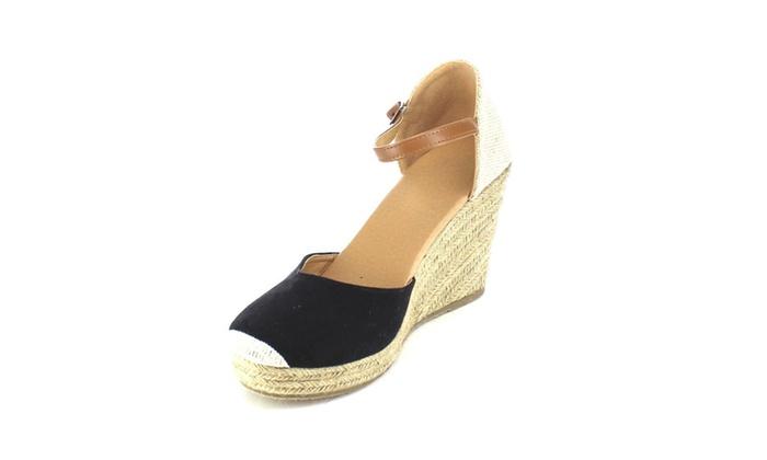 Beston AB01 Women's Espadrille Platform Wedge Sandals