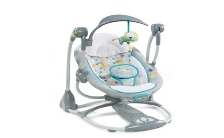 Ingenuity Convertme Swing 2 Seat Portable Swing Ridgedale 20354296-dc3d-4a7a-b3c0-5255e801c4f4